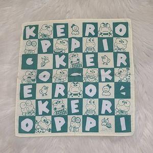 Vintage Sanrio Kero Keroppi Hanky